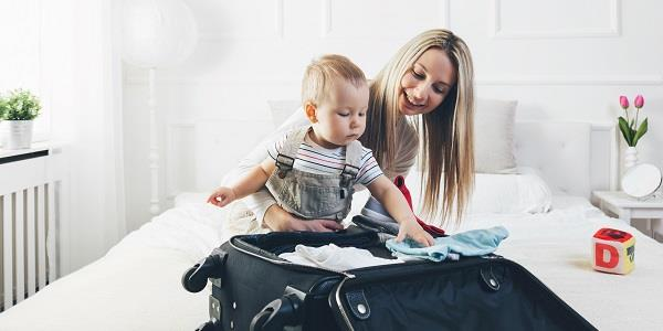 The ultimate baby and toddler packing list