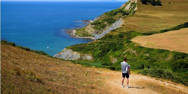 Discover the spectacular Chapman's Pool beach in Dorset