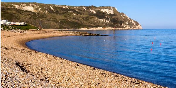 Take a peaceful walk along the beautiful beach of Ringstead Bay