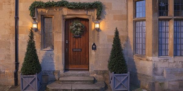 The Cotswolds is a beautiful place to spend the festive season