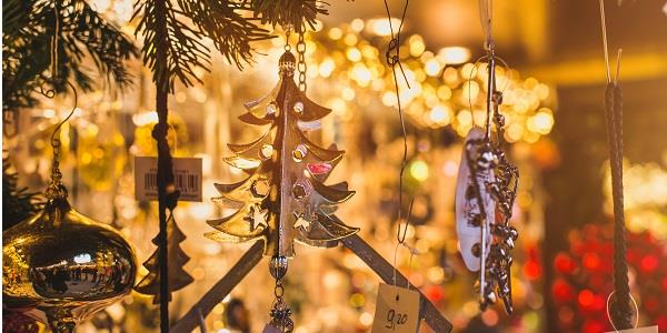 Pick up a beautiful selection of gifts and decorations at a Cotswold Christmas market