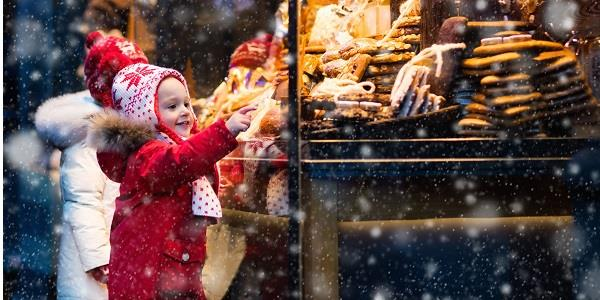 The whole family will love visiting a Christmas Market in Dorset