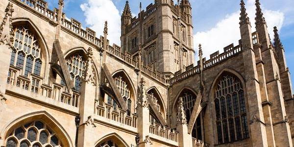 Bath Abbey has been welcoming visitors and worshipers for almost 2,000 years