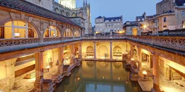 Bath's Roman Baths are a uniquely beautiful historical site