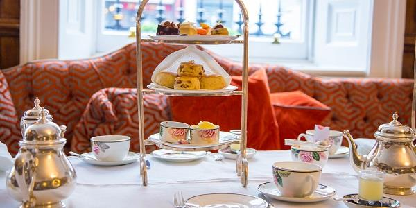 Treat yourself to a delicious afternoon tea after a day exploring Bath