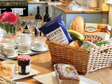 Complimentary Welcome Hampers